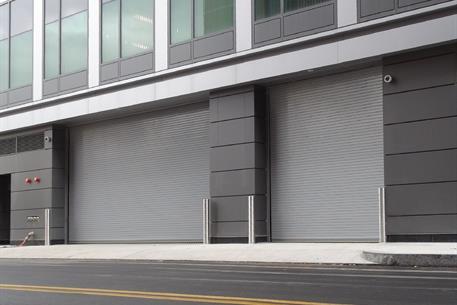 high speed roll up door1024 in Parking Garage Retouched