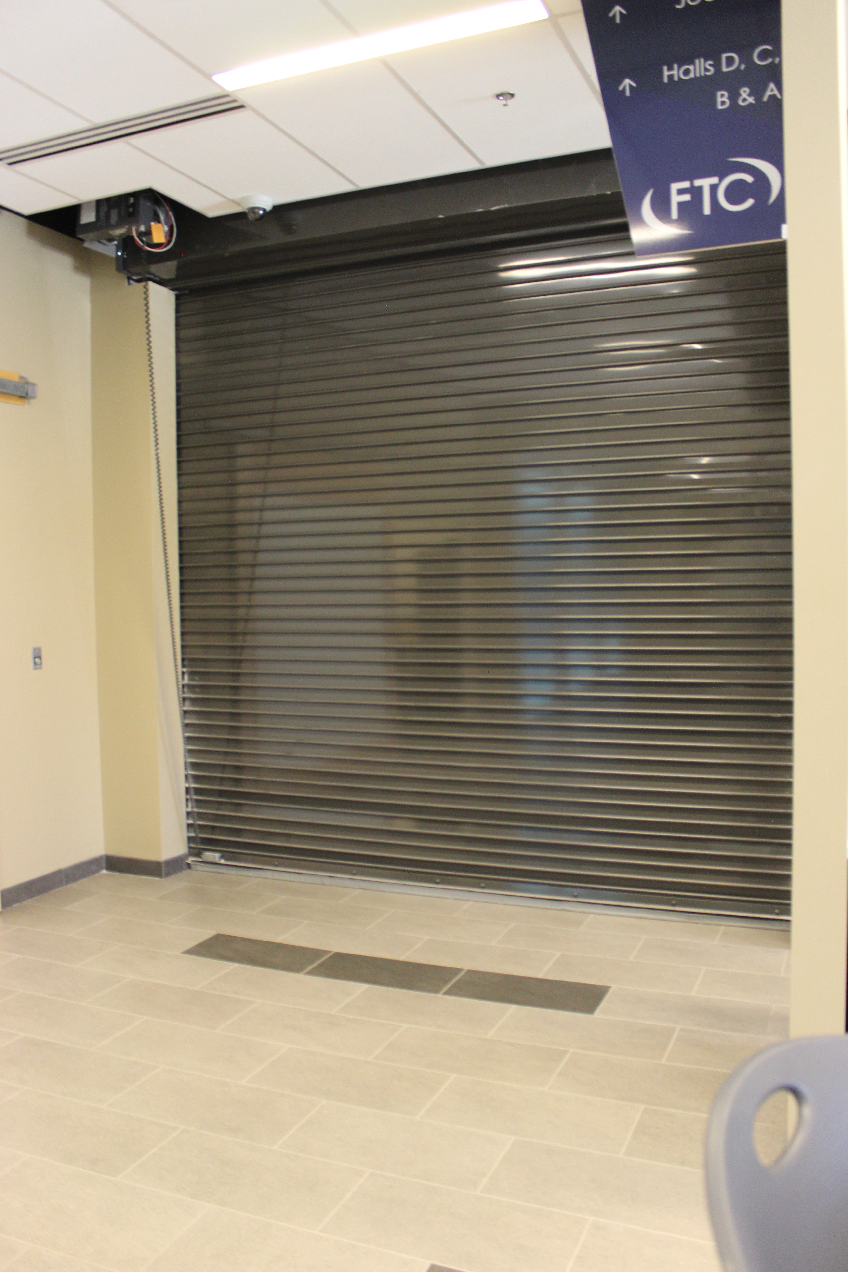 Fire Doors  AlarmGard with coil and op showing