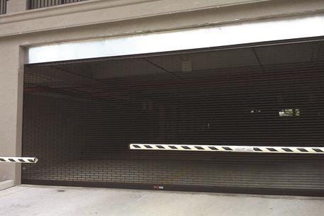 Security Gate Black SentryGate Parking Garage