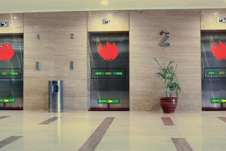 SmokeShield Elevator Lobby