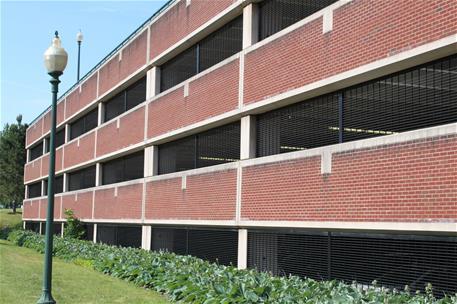 Brick Parking Garage_SentryGate Grille (1)