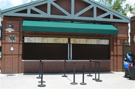 ConcessionStand Insulated Counter Door